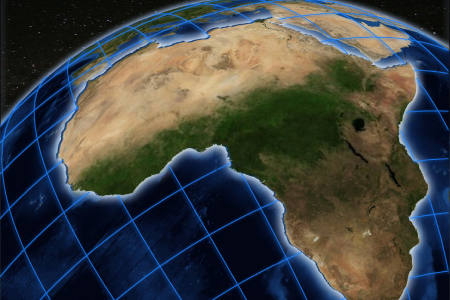 Map Of Africa From Space.Ethiopia To Host Eighth Edition Of African Space Leadership Congress