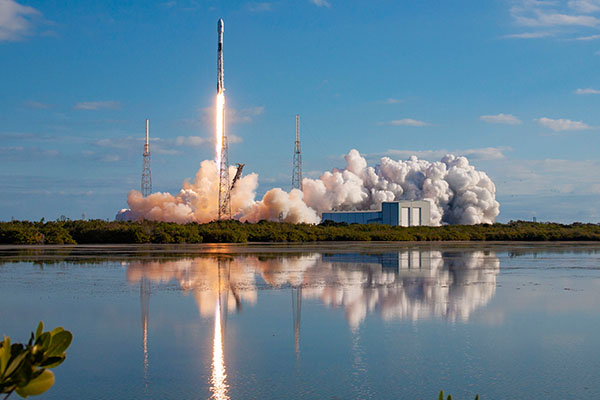 SpaceX successfully launches fourth batch of 60 Starlink satellites - SatelliteProME.com
