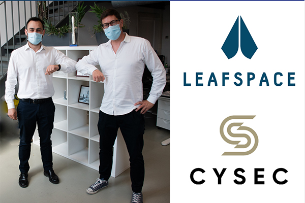 CYSEC and Leaf Space partner to offer end-to-end cyber security protection for satcomms