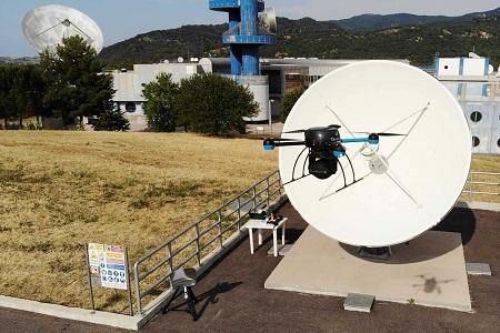 OneWeb uses QuadSAT's drone technology - SatellitePro ME - SatelliteProME.com